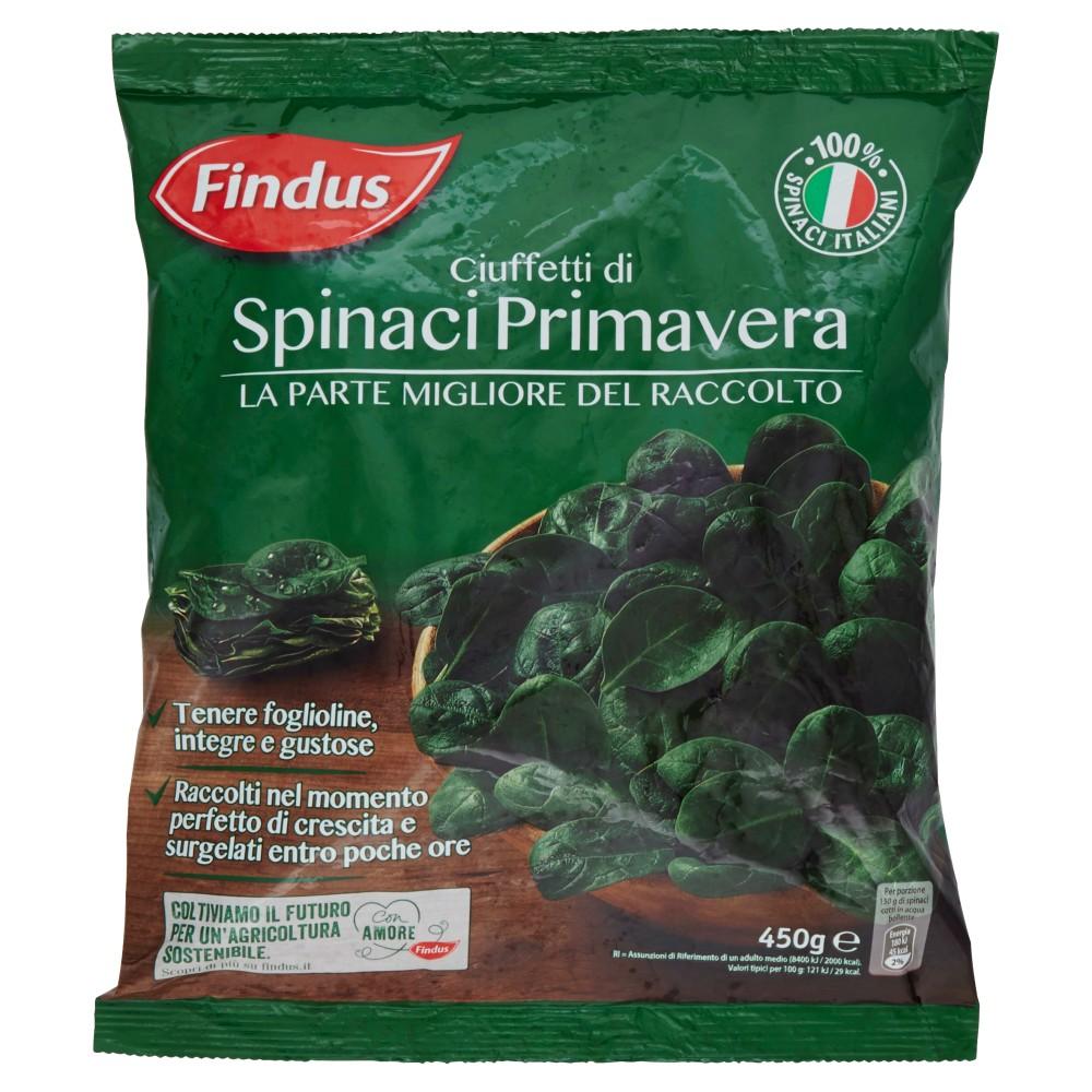 Findus - Ciuffetti di Spinaci