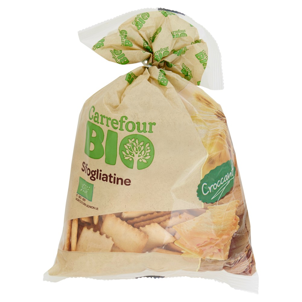 Carrefour Bio Sfogliatine
