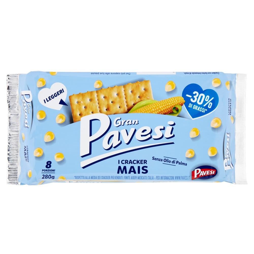 Gran Pavesi Cracker Mais