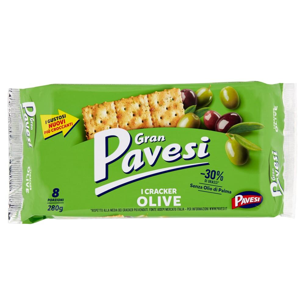 Gran Pavesi Cracker Olive