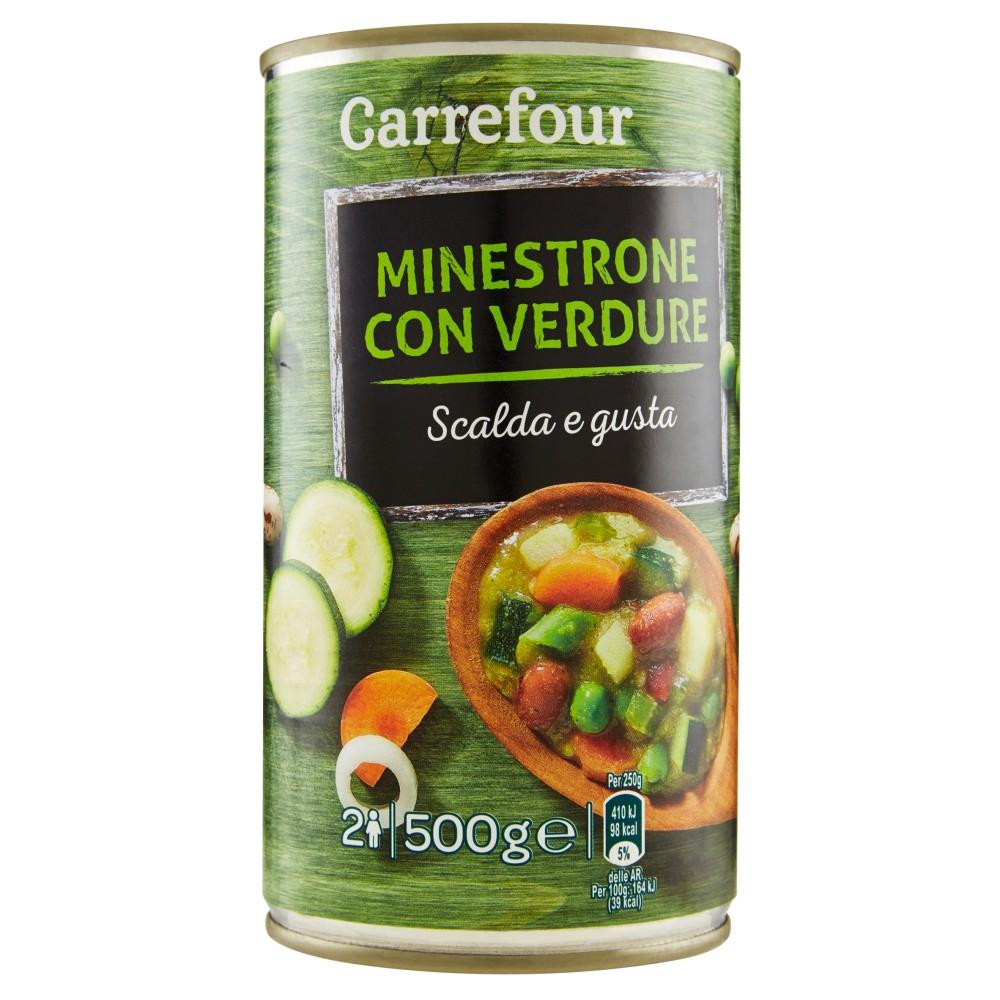 Carrefour Scalda e gusta Minestrone con Verdure