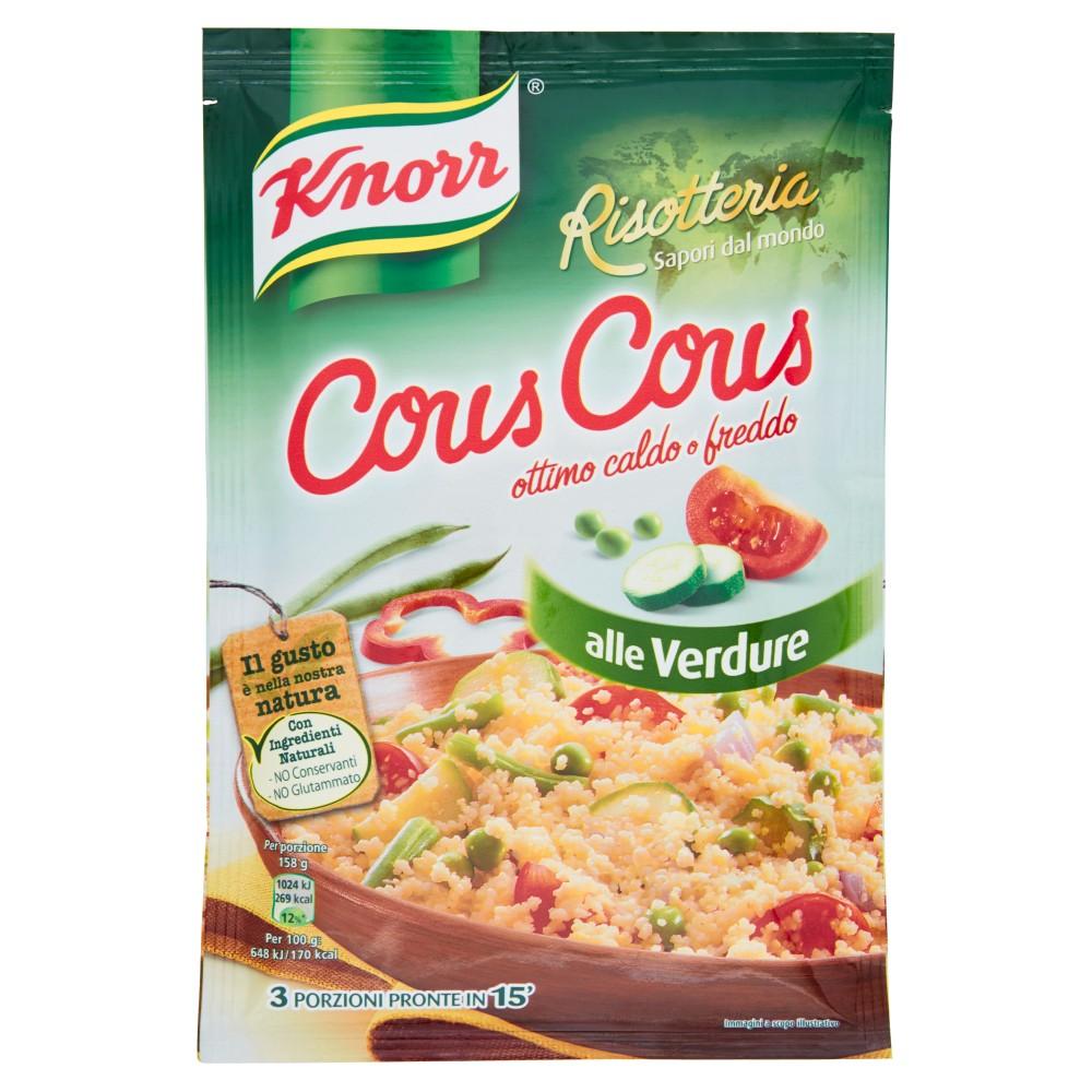 Knorr Risotteria Sapori dal mondo Cous Cous alle verdure