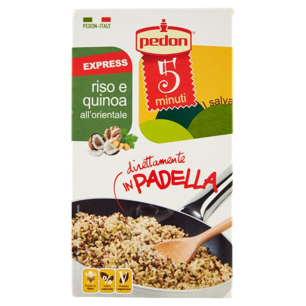 pedon I salvaminuti Express riso e quinoa all'orientale