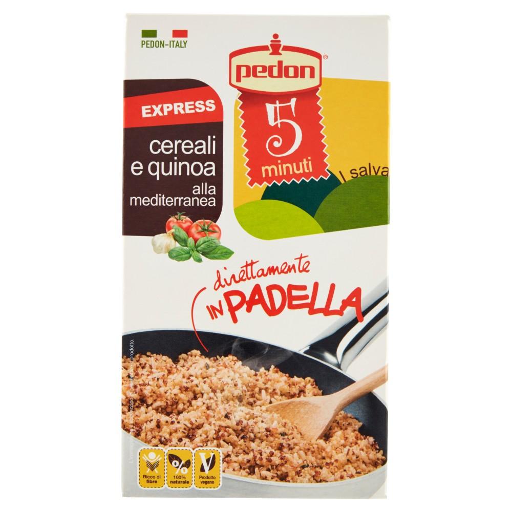 pedon I salvaminuti Express cereali e quinoa alla mediterranea