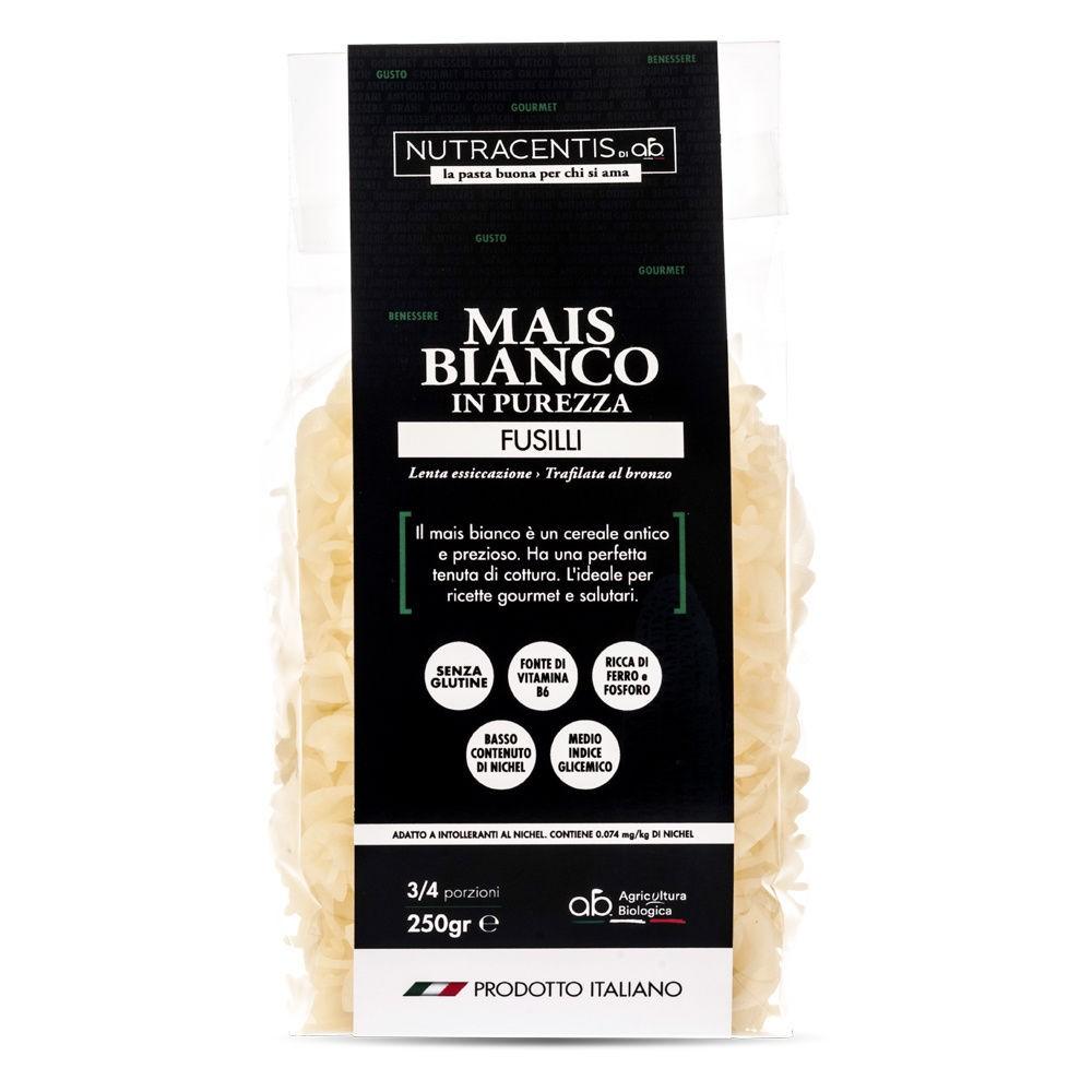 Fusilli di Mais bianco in purezza (bio, gluten free)