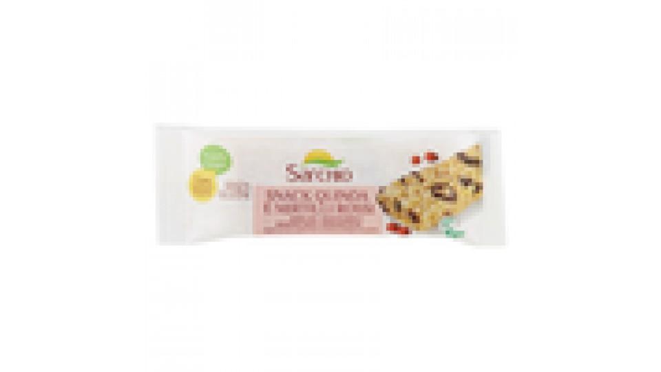 Sarchio Snack Quinoa e Mirtilli Rossi
