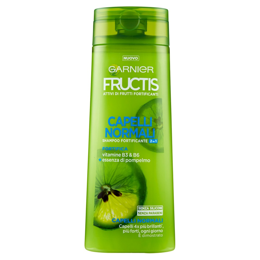 Garnier Fructis Capelli Normali 2in1 Shampoo per Capelli Normali