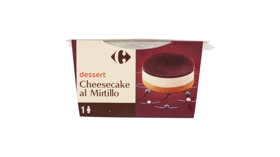 Carrefour dessert Cheesecake al Mirtillo | Yogurt e ...