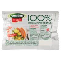 Amadori 100% Preparati con Carne Macinata da Petto e Cosce di Pollo e Tacchino