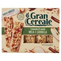 Gran Cereale 5 barrette di cereali Mela e Cannella