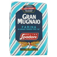 """Molino Spadoni Gran Mugnaio Farina di Grano Tenero Tipo """"00"""" Anti-Grumi"""