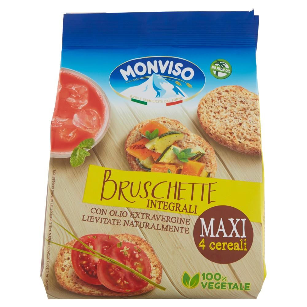 Monviso Bruschette Integrali Maxi 4 cereali