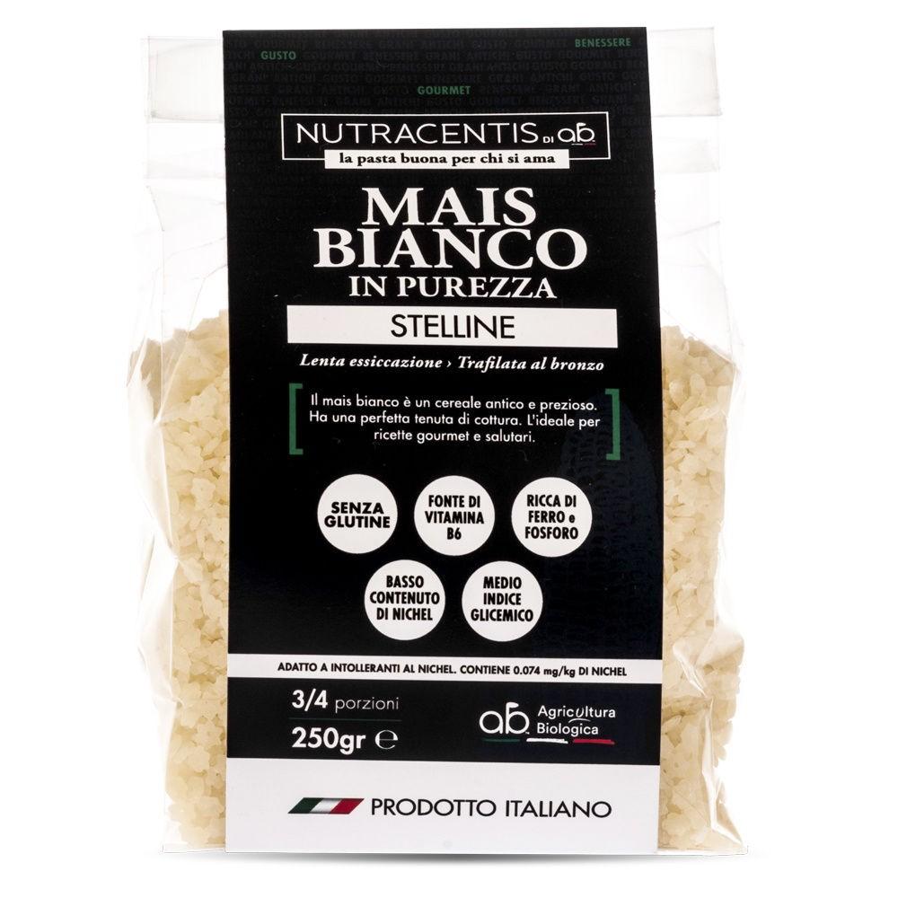 Stelline di Mais bianco in purezza (bio, gluten free)