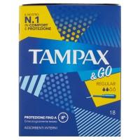 Tampax &Go Regular x18