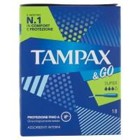 Tampax &Go Super x18
