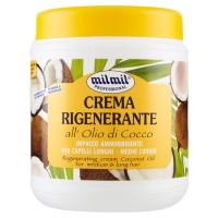 milmil Professional Crema Rigenerante all'Olio di Cocco per Capelli Lunghi - Medio Lunghi