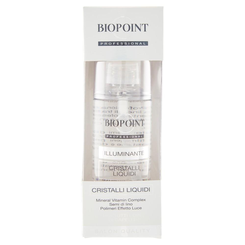 Biopoint Professional Illuminante Cristalli liquidi per tutti i tipi di capelli
