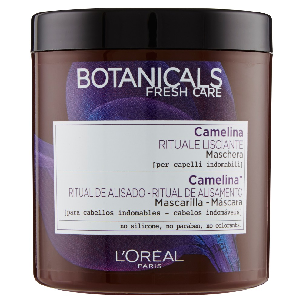 L'Or�al Paris Botanicals Camelina Rituale Lisciante - Maschera per capelli indomabili