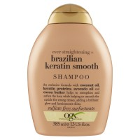 Ogx ever straightening + brazilian keratin smooth Shampoo