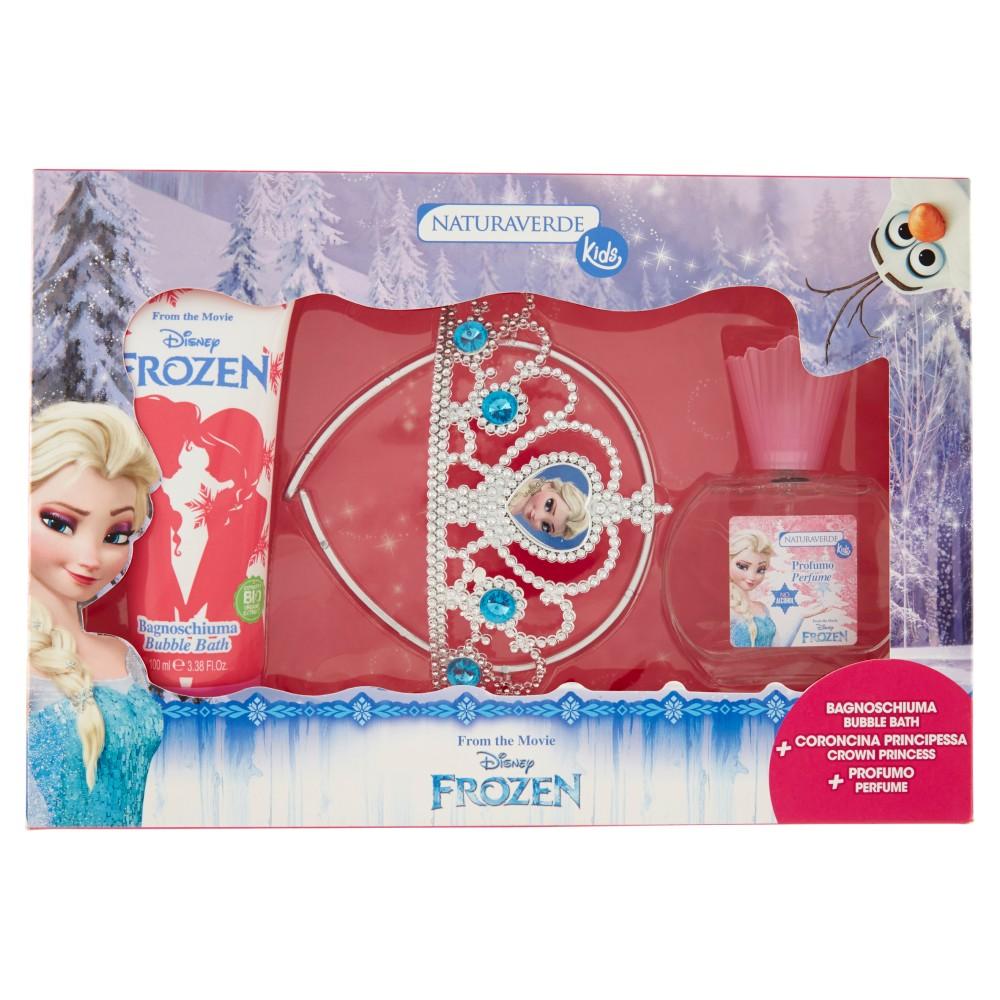 Naturaverde Kid Bagnoschiuma + Coroncina Principessa + Profumo Disney Frozen