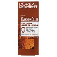 L'Or�al Paris Men Expert Barber Club - Olio disciplinante idratante per viso e barba lunga