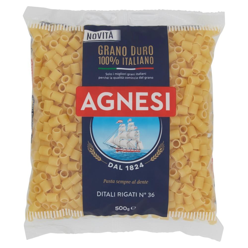 Agnesi Ditali Rigati N� 36