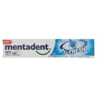 Mentadent dentifricio c-fresh con colluttorio