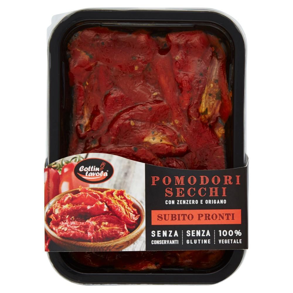 Cottin tavola Pomodori Secchi con Zenzero e Origano