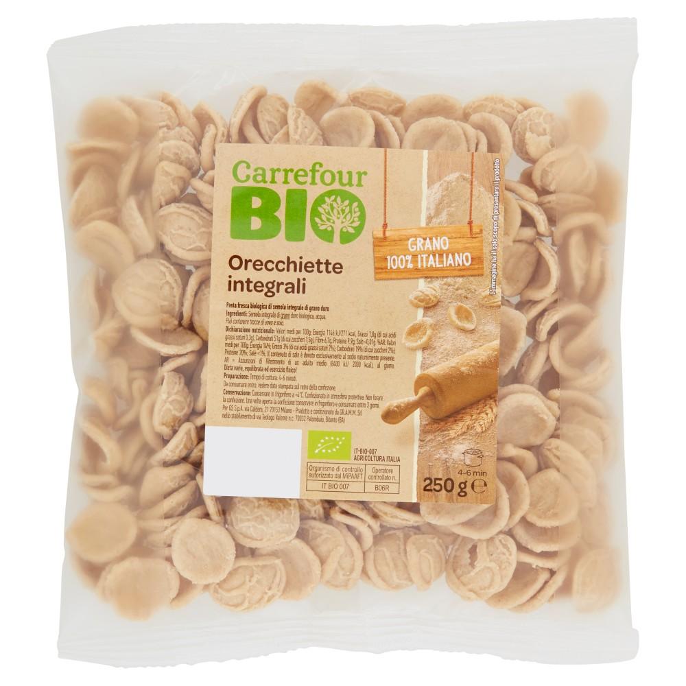Carrefour Bio Orecchiette integrali