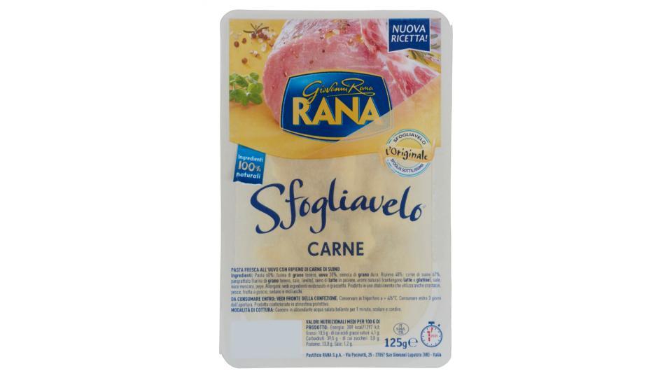 Giovanni Rana Sfogliavelo Carne