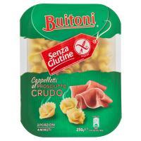 BUITONI SENZA GLUTINE CAPPELLETTI AL PROSCIUTTO CRUDO Pasta fresca all'uovo