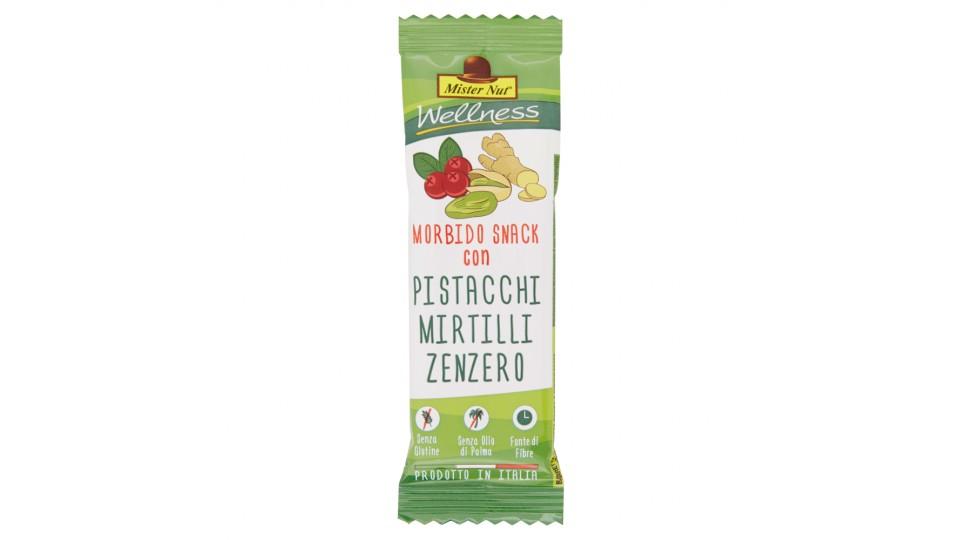 Mister Nut Wellness Morbido Snack con Pistacchi Mirtilli Zenzero