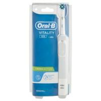 Oral-B Power Spazzolino Elettrico Vitality Timer CrossAction Bianco