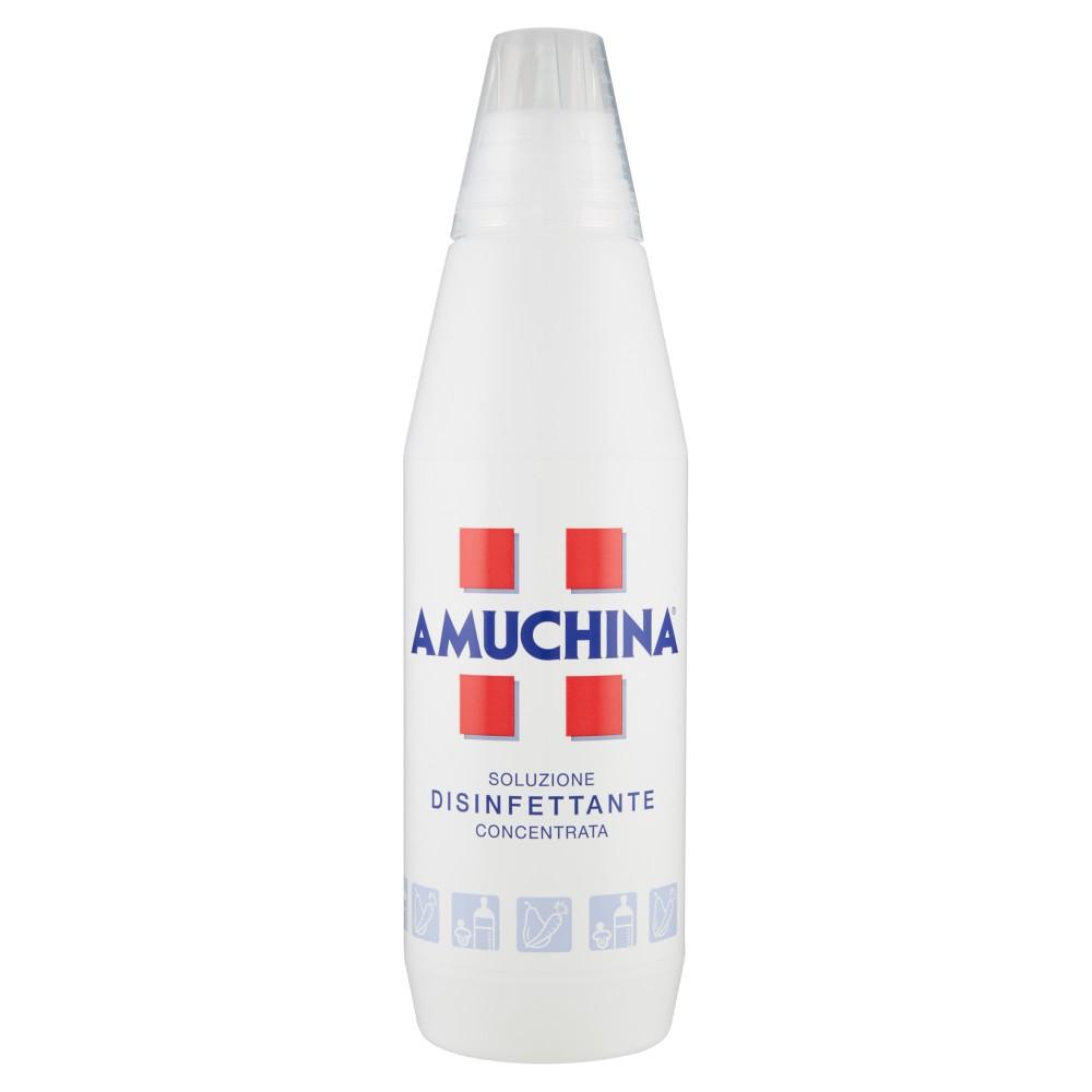 Amuchina, soluzione disinfettante concentrata