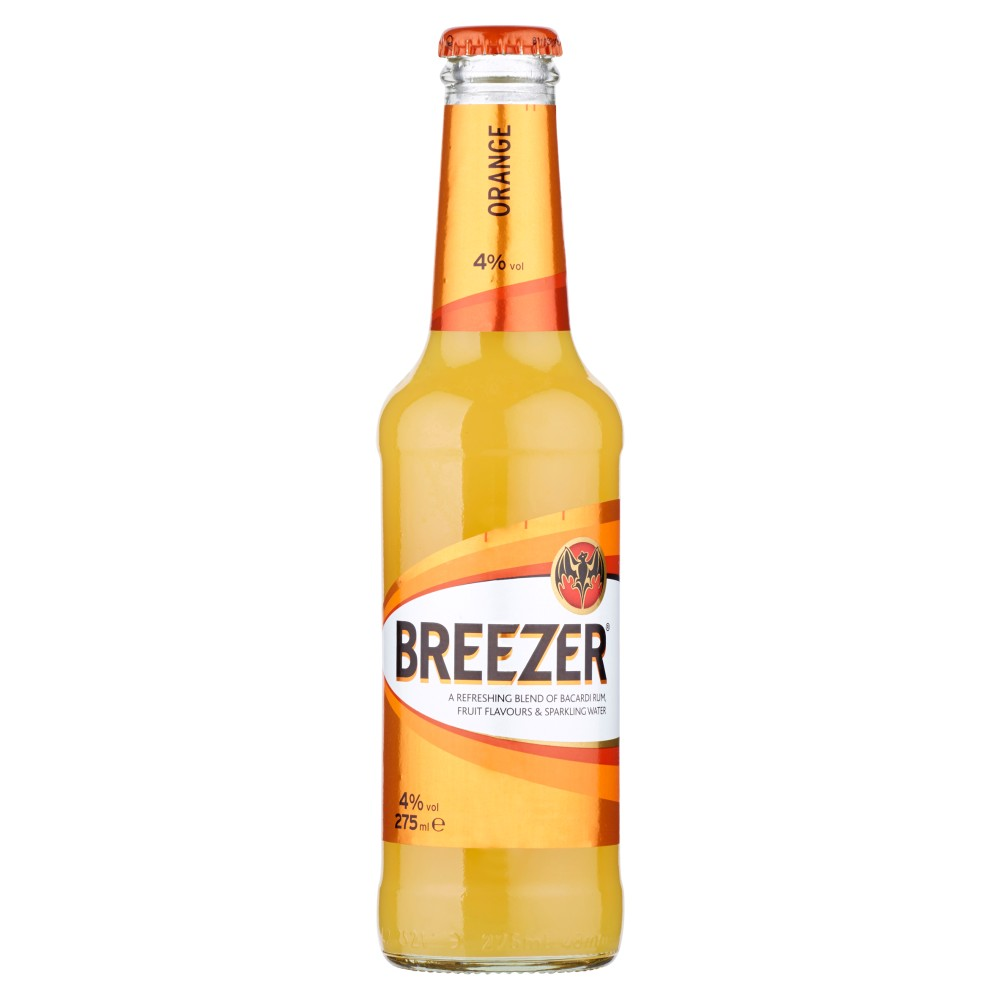 Breezer, orange