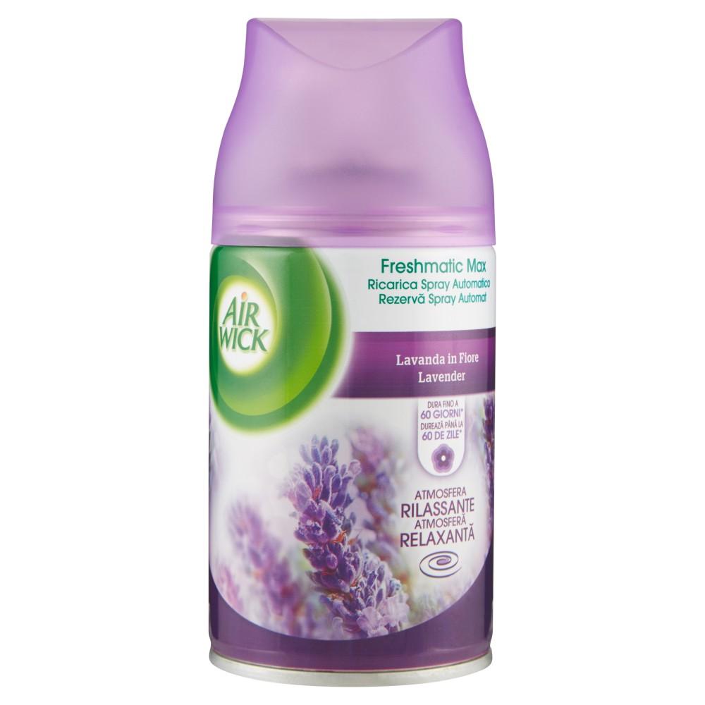 Air Wick, Freshmatic max ricarica spray automatico lavanda in fiore