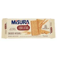 Misura - Fibrextra, Crackers Integrali