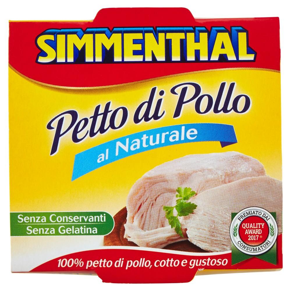 Simmenthal, petto di pollo al naturale