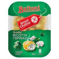 BUITONI SENZA GLUTINE TORTELLONI RICOTTA E SPINACI Pasta fresca all'uovo