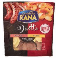 Giovanni Rana, Duetto salsiccia - patate