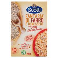Riso Scotti, Fantasia Riso Farro e Benessere con semi e quinoa rossa
