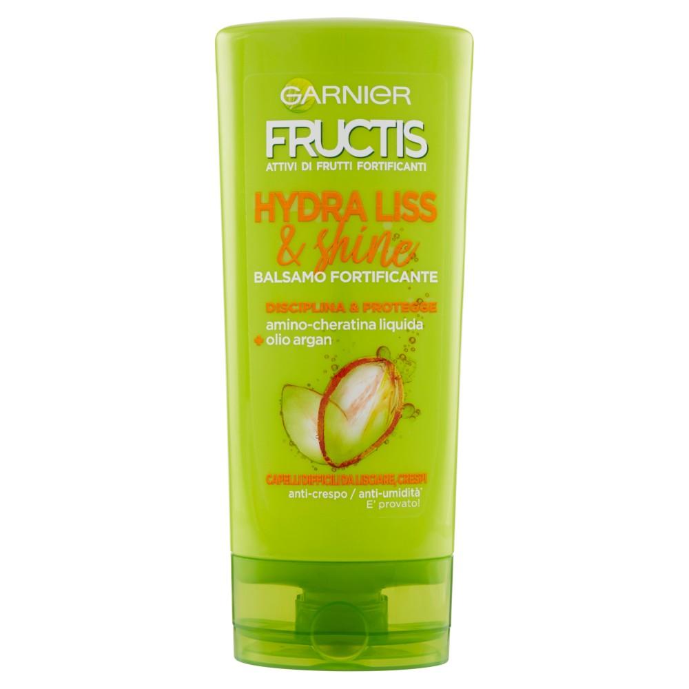 Garnier Fructis Hydra Liss Balsamo per Capelli Difficili da Lisciare