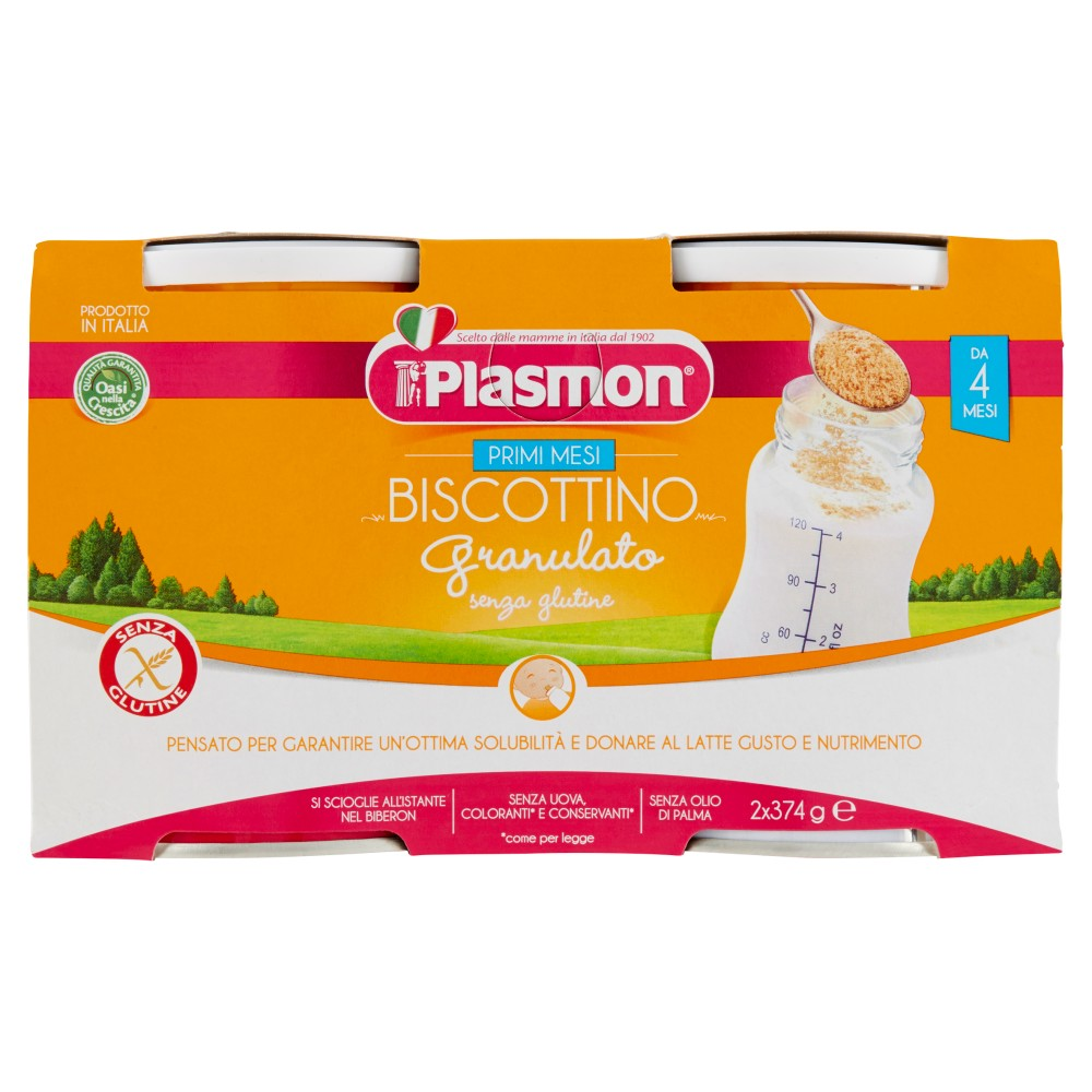 Plasmon, Biscottigranulato senza glutine