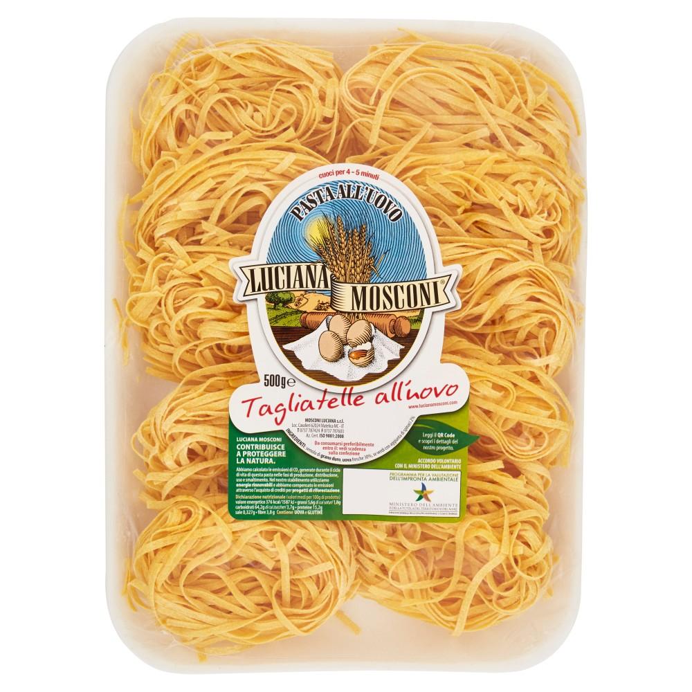 Luciana Mosconi, Tagliatelle pasta all'uovo