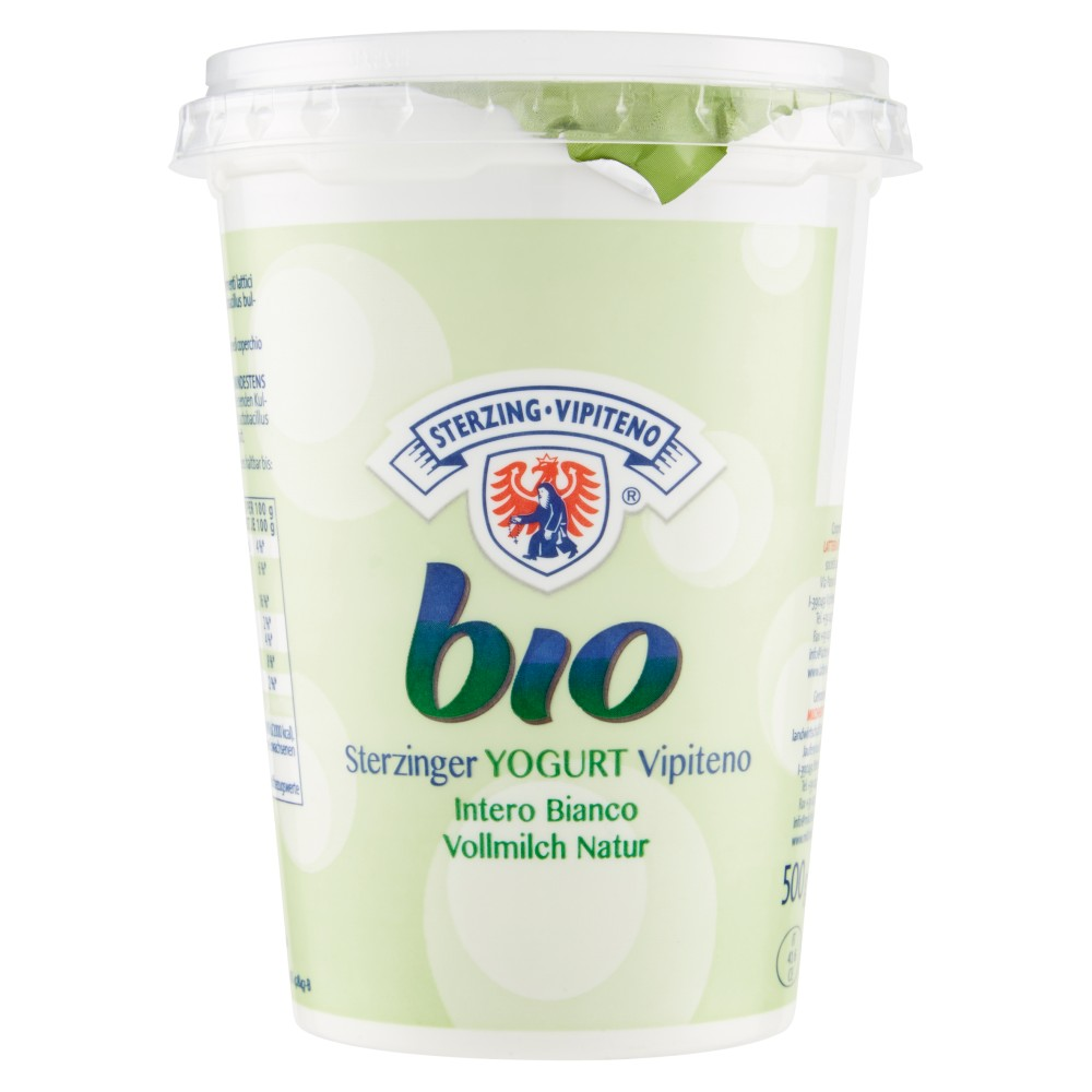 Sterzing Vipiteno, yogurt intero bianco