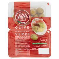 Polli, olive verdi denocciolate
