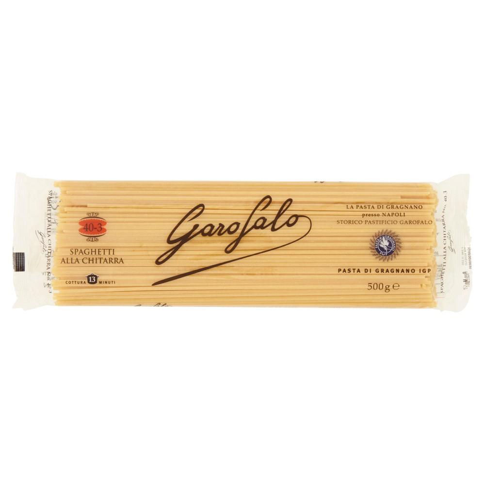 Garofalo, Spaghetti alla chitarra n. 5-43 pasta di semola di grano duro integrale