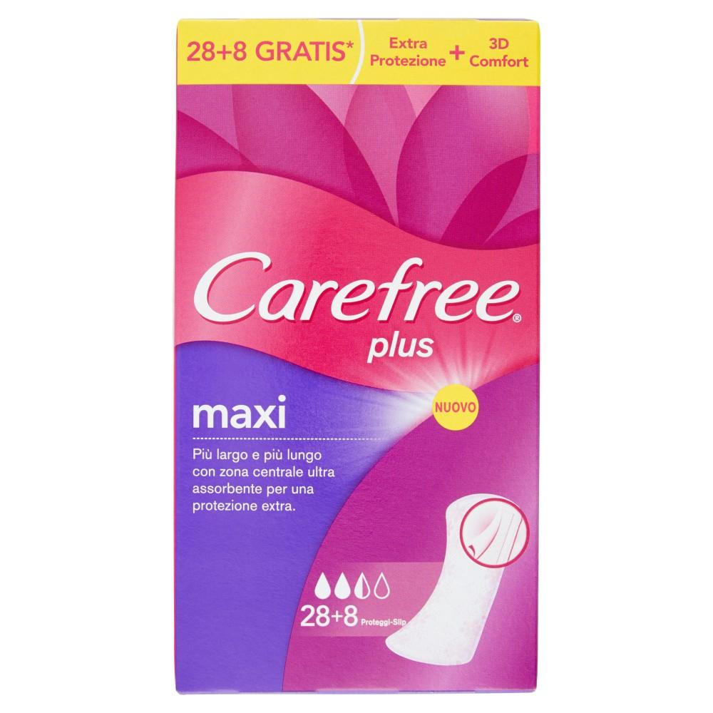 Carefree , Plus Maxi proteggi-slip