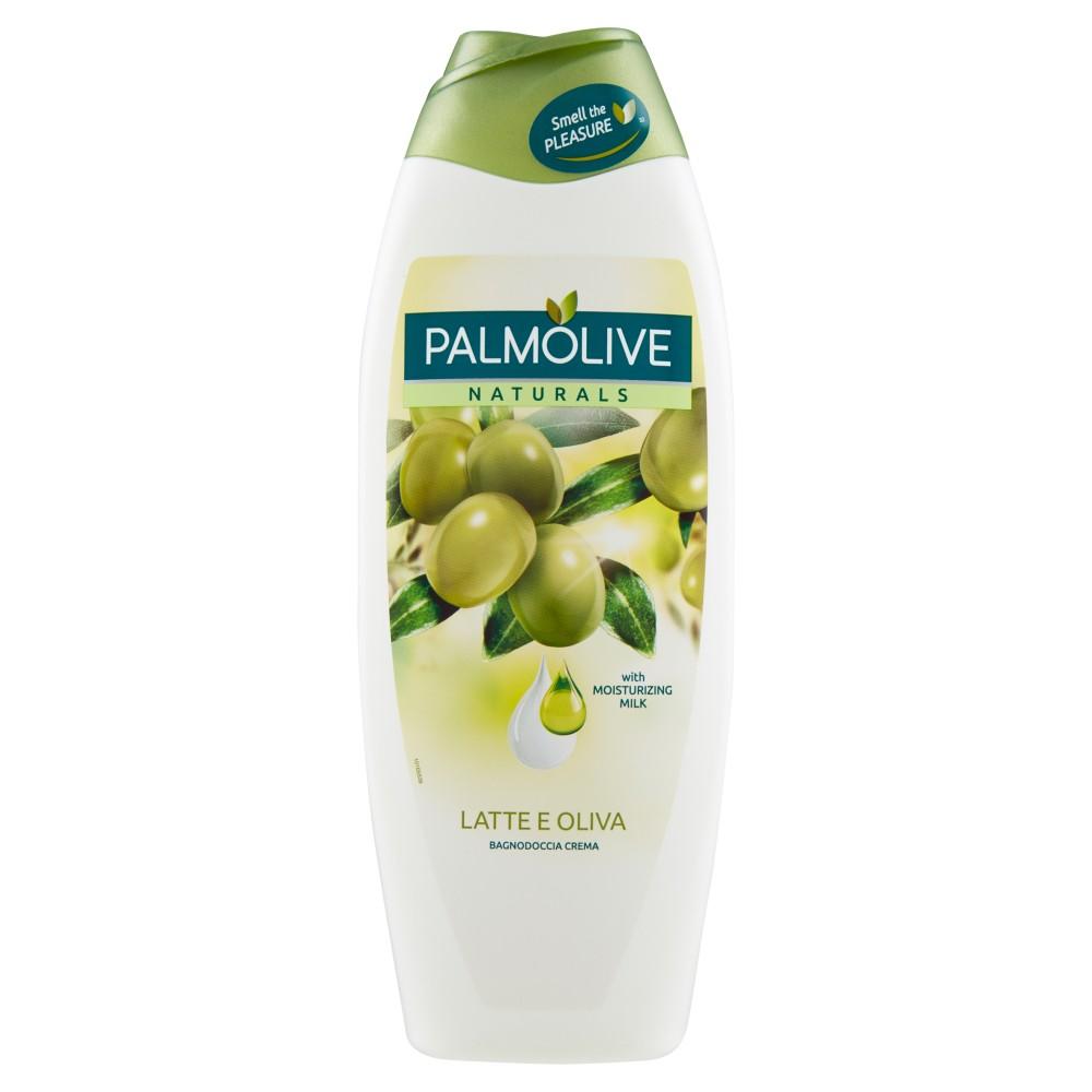 Palmolive, Naturals latte e oliva bagnodoccia crema