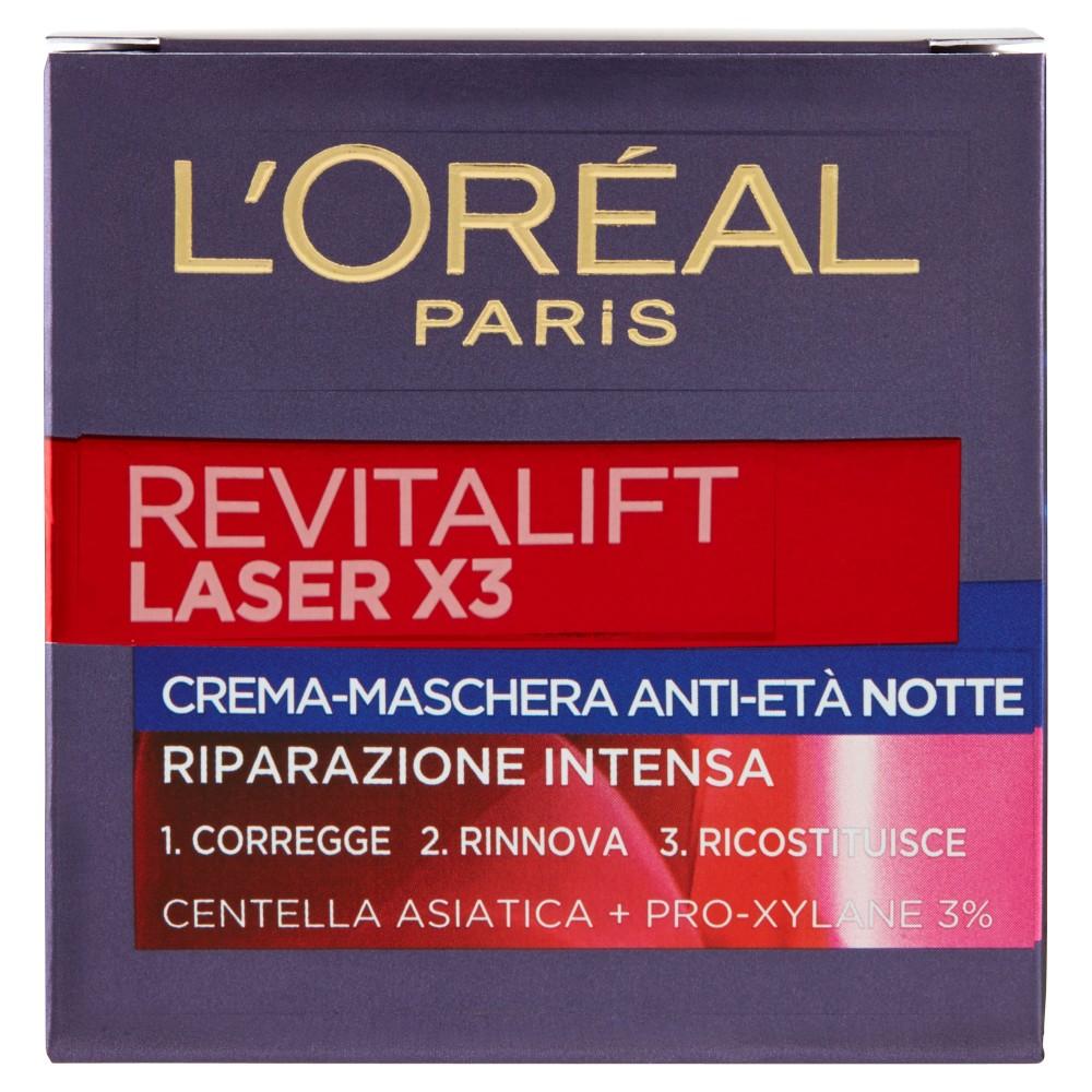 L'Oréal Paris Revitalift Laser X3 Crema-Maschera Anti-Età Notte